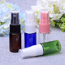 100 x 10ml Different Colors Spray Atomizer Bottles Plastic - Empty - Perfume Fragrance PET(China)