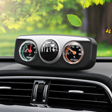 3 in1 Guide Ball Auto Boat Vehicles Navigation Compass Thermometer Hygrometer Decoration Ornaments Car Interior Accessories(China)