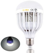 LED Bug Zapper Light Bulb 10W Mosquito Killer Bulb B22 E26/E27 Wasp Bug Mosquito Flying Insects LED UV Lamp(China)