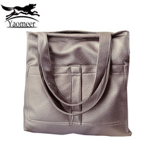 Vintage Luxury Handbags For Women Shoulder Bags Female Designer Large Pu Leather Totes Famous Brand Soft Zipper Brown Hand Bags