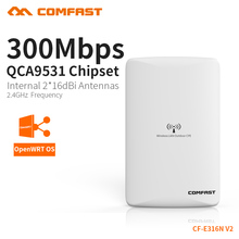 COMFAST  Wireless Outdoor access point wifi router 300mbps WIFI signal booster Amplifier AP Dual 16dBi Antenna CF-E316N