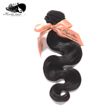 Mocha Hair Body Wave Indian Virgin Hair extension 12inch-26inch Nature Color 100% Human Hair Weaves(China)