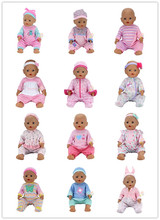 6Color Choose New Style Clothes Wear fit 43cm Baby Born zapf, Children best  Birthday Gift(only sell clothes)