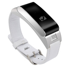 Fashion A9 Smart Bracelet Band Bluetooth Talk Headset Wristband with Pedometer Music Sleep Monitor for Android IOS Phone(China)