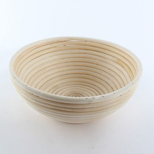 Round Oval Banneton Brotform Bread Proofing Proving Handmade products Rattan Basket(China)