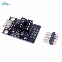 DIYmall Development Programmer Board With Pins for ATtiny13A ATtiny25 ATtiny45 ATtiny85 ATTINY85-20PU DIP-8 ATMEL By DIY FZ2609