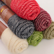 400g High Quality natural soft cotton yarn New type baby yarn knitting crochet discount Free Shipping (100 gram*4 balls)(China)