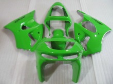 Custom green Fairing kit for KAWASAKI Ninja ZX6R 98 99 ZX 6R 1998 1999 zx 6r Motorcycle Fairings set+7gifts KB01