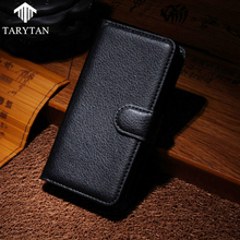 Buy TaryTan Flip PU Litchi Leather Phone Cases Doogee Shoot 1 Shoot1 5.5 inch Covers Card Holder Back Shell Skin Bags for $3.94 in AliExpress store