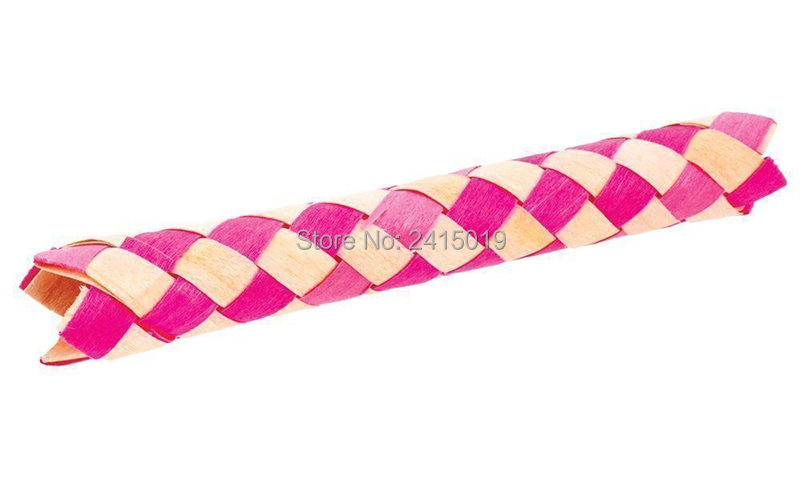 6xChinese finger trap magic trick joke gift birthday party bag fillers-2