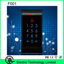 Hot sale F001-K Card / possword / card+password single door access control standalone keyboard door access control  system