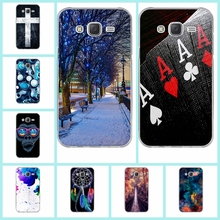 Fashion Painted Pattern TPU Silicone Soft For Samsung Galaxy J5 Case For Samsung Galaxy J5 2015 J500 Cell Phone Back Cover Case(China)