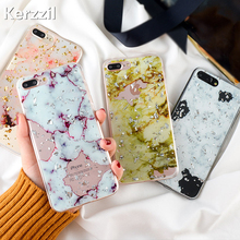 Buy Kerzzil Gold Foil Bling Marble Phone Cases iPhone X 10 8 7 6s Plus Hole Soft TPU Case Cover iPhone 6 6s 7 8 Plus Back for $2.39 in AliExpress store