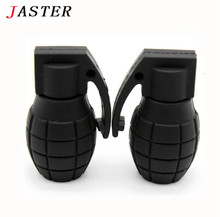 JASTER Hand grenades model USB 2.0 Memory Stick Flash pen Drive usb flash drive 8G 16G 32G free shipping funny U Disk