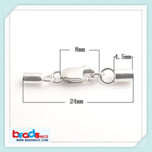 Beadsnice ID 25299 the most popular jewelry end caps silver 925 in wholesale price gives more discounts