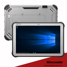 4G/128G RAM/ROM 12 inch 4G LTE windows 10 pro rugged tablet, industrial panel PC