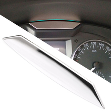 Stainless steel For Skoda Octavia A7 2015 Article dashboard decoration light(China)