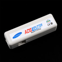 New arrival RJ11 ADSL Line Splitter Fax Modem Broadband Phone Network Jack Noise Filter wholesale