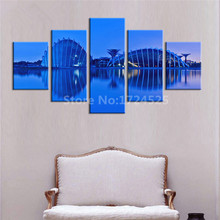 5 Pcs Modern Canvas Painting Wall Art Giclee Canvas Prints Stretched Framed Fine Art Artwork For Home Decor In High Quality