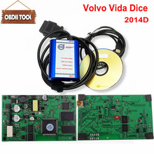 2018 Hot Sale Excellent PCB Board 2014D Full Chip Auto Diagnostic Tool For VOLVO Vida Dice For VOLVO Series Multi-Language(China)