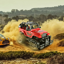 1:24 RC Car Super Big Remote Control Car Road Vehicle SUV Jeep off-road Vehicle 1/16 Radio Control Car Electric Toy Dirt Bike(China)