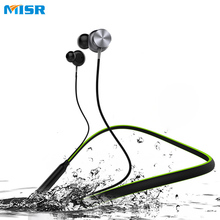 Buy MISR N7 Bluetooth Headphone Neckband Magnetic Wireless Earphone Sport Stereo Noise Cancelling Microphone Phone for $26.79 in AliExpress store