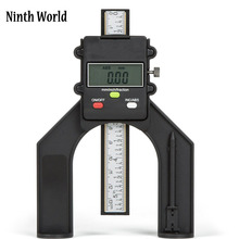 Ninth World Digital Depth Gauge 80mm LCD Height Gauges Calipers With Magnetic Feet For Woodworking table saw Measuring Tools(China)