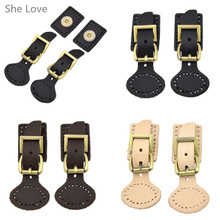 2pcs Magnetic Snap Buckles Bag Making Fastener DIY Replacement Sewing Buttons Handbag Leather Craft(China)