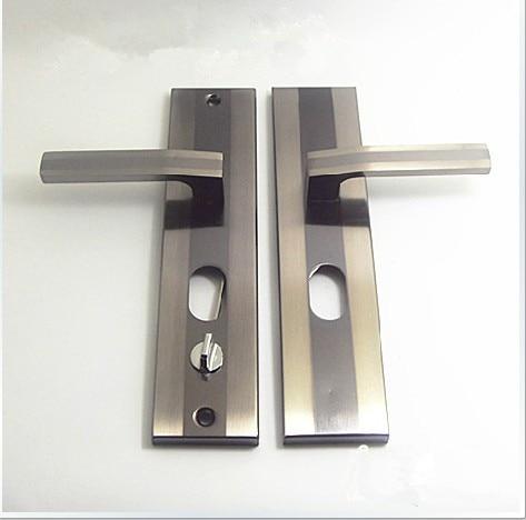 Free Shipping The Anti-theft Door Handle Handle Black Burglarproof Door Handle Door Door Universal<br><br>Aliexpress