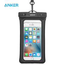Anker Waterproof Case, IPX8-Rated Dry Bag for iPhone 7/7 plus/6s / 6 / 6s Plus, Samsung Galaxy S7 and Other up to 6 Inches(China)