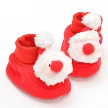 Christmas Baby Warm Newborn Winter Prewalker Cartoon Super Warm Shoes Infant Toddler Christmas Gift Boots Booties Baby shoes 5