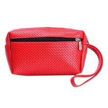 Hot Fashion Women's Coin Money Bag Faux Leather Purse Wallet  Double Zipper Practical Bag