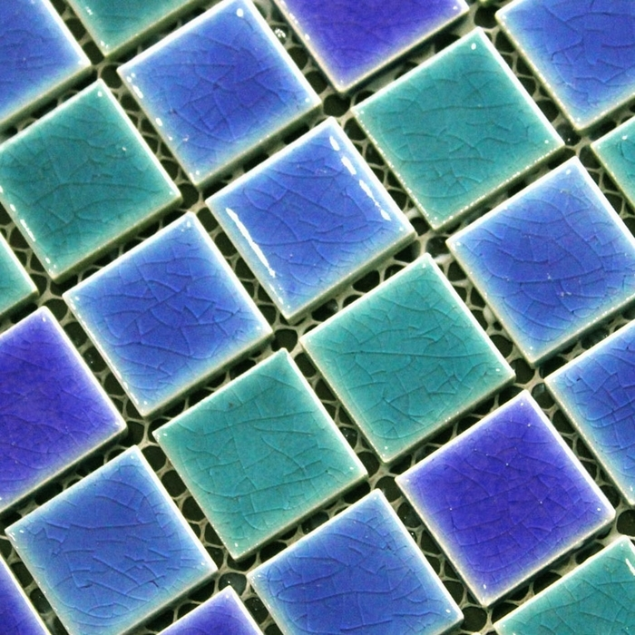 Small ceramic tiles for crafts