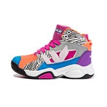 WETIKE Summer Kid's Basketball Shoes Cushioning High Ankle Basketball Sport Shoes For Boy Girl Outdoor Sneakers Basket child Gir(China)