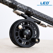 New Left/Right Interchangeable Fly Fishing Reel Former Rafting Ice Fishing Reel Fish Vessel Wheel Fishing Gear