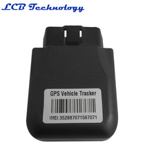 5PC/LOT 2016 New High Quality Lower Prices OBD2 OBDII GPS/GPRS GSM Tracker For Car Auto Vehicle Tracking TK206(China)