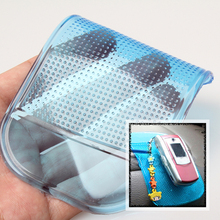 Anti-Slip Phone Mat Holder GPS Pad Sticky Mat Anti Slip Pens MP4 Pad Car Dash Place for Mobile Phones 14*8cm(China)