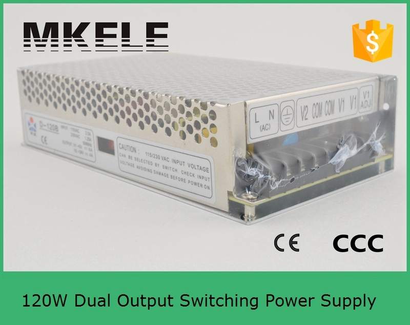 customized model D-150F15 15V -15V volt 120w dual output switching power supply 5A 5A dual output type can be customized<br>