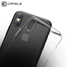 Buy CAFELE Original Phone Case iPhone X 10 Cover Luxe Transparent Ultra Thin Crystal Silicon Soft Back Shell iPhone X Case for $1.39 in AliExpress store