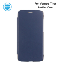 Vernee Thor Leather case Flip case cover Original case for Vernee Thor Cell Phone In Two colour Free Shipping