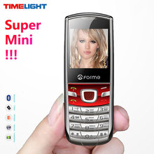 English+Russian Keyboard!Super Mini Metal body Mobile Phone!Original FORME T3 Unlocked Cell Phone Pocket Phone Free shipping!(China)