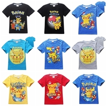 Pokemon Go Team children Funny t shirt boys clothing Valor Mystic Instinct kids T-shirt for boys Cotton Tops PokemonGo clothes