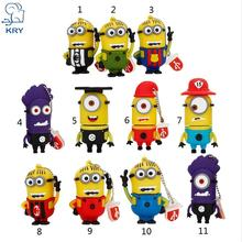 XIWANG 2017 2.0 usb flash drive funny cute cartoon pendrive 4GB 8GB 16GB 32GB 64GB memory stick notebook u disk free shipping(China)