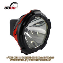 OFFROAD 4WD Truck ATV 4x4 Motorcycle SUV 7 INCH SPOTLAMP 35W 12V DC HID XENON road WORK LIGHT DRIVING Lamp SPOT light