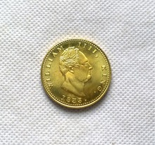 1835 East British India Company Gold COIN COPY FREE SHIPPING(China)
