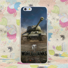 1127HJ World Of Tanks Game i Hard Transparent Case Cover for iPhone 4 4s 5 5s SE 5C 6 6s Plus 7 7 Plus