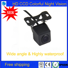 Hot Sell CCD HD night vision car rear view camera backup Parking for all auto vehicle Car Universal Reversing Camera Promotion(China)