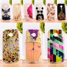 DIY Painted Soft TPU & Hard Plastic Phone Case For Motorola Moto E2 E+1 XT1505 Cell Phone Cover Anti-Knock Function Phone Bags