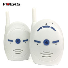 Fuers Nanny Baby Sitter Portable 2.4GHz Digital Audio Baby Monitor Sensitive Transmission Two Way Talk Crystal Clear Cry Voice(China)