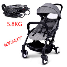 Baby Throne Travel Baby Stroller Lightweight Portable Folding Umbrella Stroller Easy Carry Bebek ArabasBaby Stroller(China)